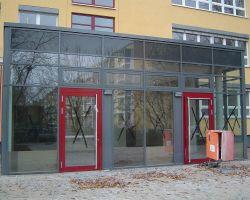 Haupteingang im OSZ Potsdam